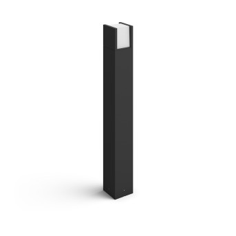 Borne lumineuse Philips Hue White Fuzo LED Noir, 1 lumière