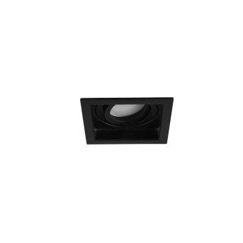 Spot encastrable Trio Kenai LED Noir, 1 lumière