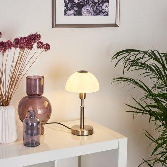 Lampe de table Montecristo Nickel mat, 1 lumière