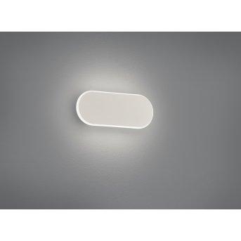 Applique murale Trio Carlo LED Blanc, 1 lumière