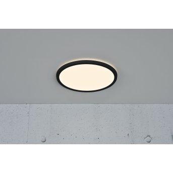 Plafonnier Nordlux OJA LED Noir, 1 lumière