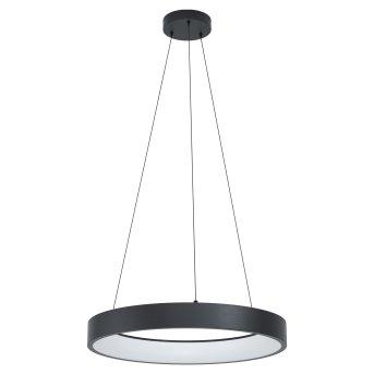 Suspension Eglo MARGHERA LED Noir, 1 lumière, Changeur de couleurs