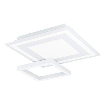 Plafonnier Eglo SAVATARILA LED Blanc, 1 lumière, Changeur de couleurs