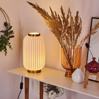 Lampe de table Dyce Laiton, 1 lumière