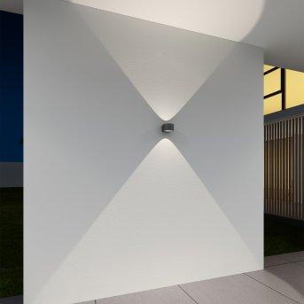 Applique murale d'extérieur KS Verlichting Icon Noir, 2 lumières