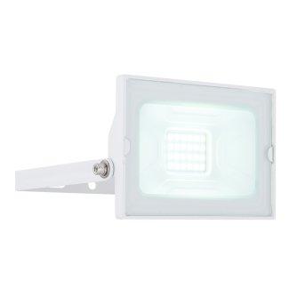 Spot de jardin Globo HELGA LED Blanc, 1 lumière