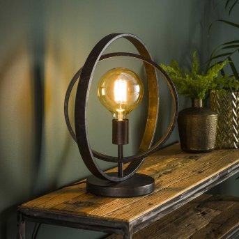 Lampe de table Mirandola Noir, 1 lumière