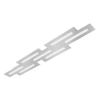 Plafonnier Grossmann FIS LED Aluminium, 7 lumières