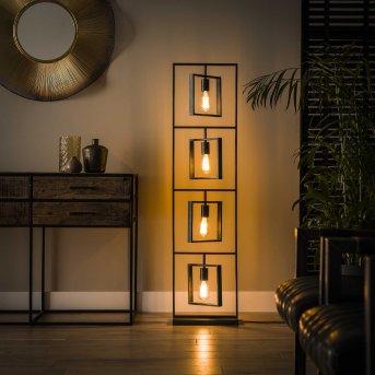 Lampadaire Marcon Noir, 4 lumières