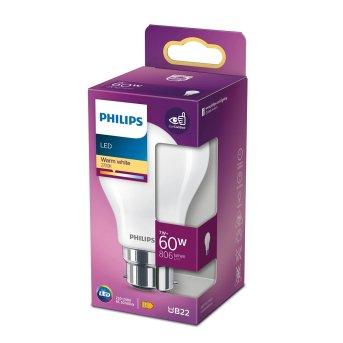 LED B22d 60 Watt 2700 Kelvin 806 Lumen Philips