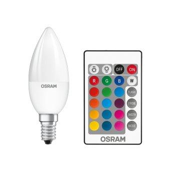 Osram LED STAR E14 RGBW 4,5 Watt