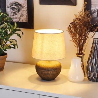 Lampe de table Exchange Brun, 1 lumière