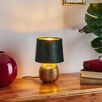 Lampe de table Beddie Or, 1 lumière