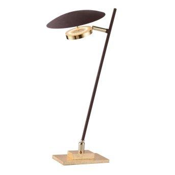Lampe de table Wofi SALEM LED Or, 1 lumière