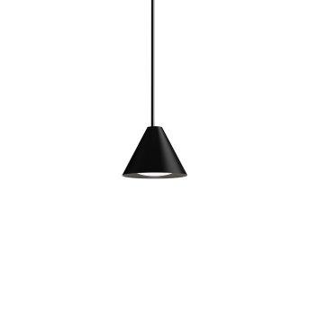 Suspension Louis Poulsen Keglen LED Noir, 1 lumière