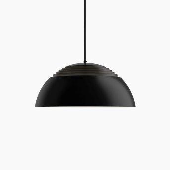 Suspension Louis Poulsen AJRoyal LED Noir, 1 lumière