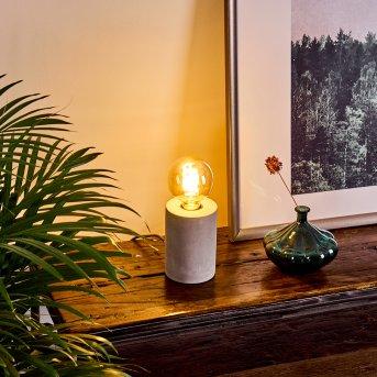 Lampe de table Solano Gris, 1 lumière
