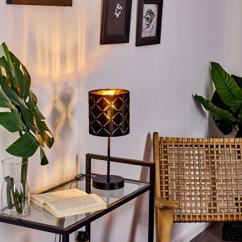 Lampe de table Arnoya Noir, 1 lumière