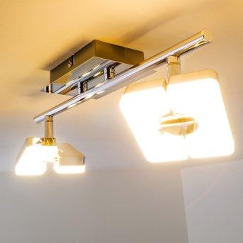 Spot Turin LED Chrome, 2 lumières