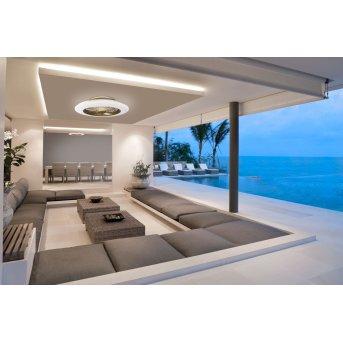 Ventilateur de plafond Mantra ALISIO LED Laiton, 1 lumière, Télécommandes