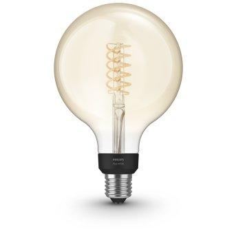 LED White Filament Globe E27 7 Watt 2100 Kelvin 600 Lumen Philips Hue