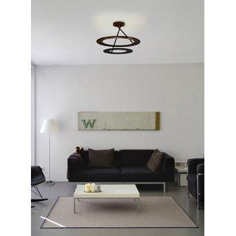 Plafonnier Bopp-Leuchten STELLA LED Noir, 9 lumières