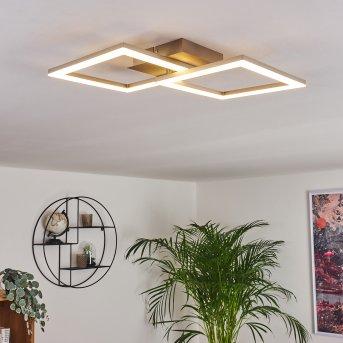 Plafonnier Batuna LED Nickel mat, 1 lumière