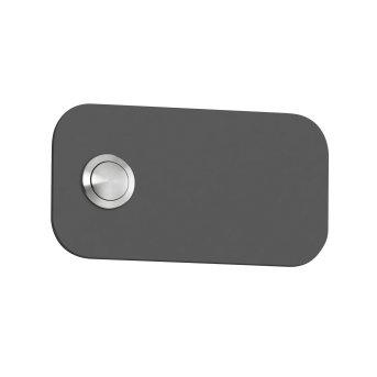 Plaque de sonnette CMD Anthracite