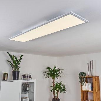 Panneau LED Pau Blanc, 1 lumière