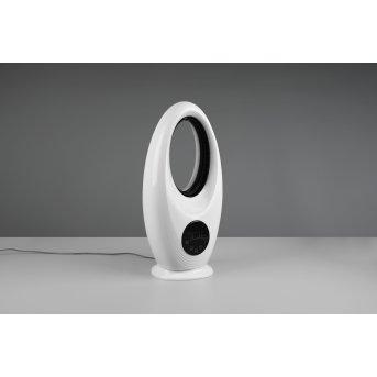 Ventilateur Reality Kalmar LED Noir, Blanc, 1 lumière, Télécommandes, Changeur de couleurs