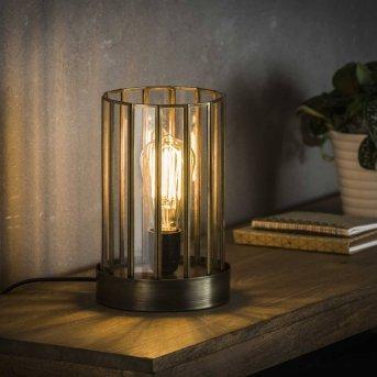 Lampe à poser POONHAVEN Transparent, 1 lumière