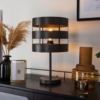 Lampe de table Maracoa Noir, 1 lumière