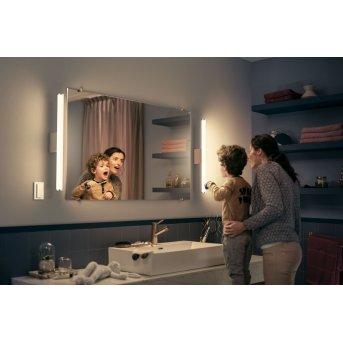 lampe miroir Philips Hue Adore LED Blanc, 1 lumière