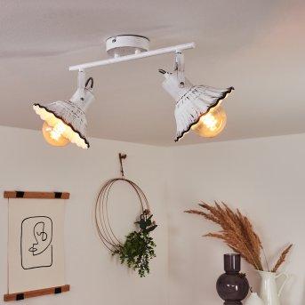 Plafonnier Lomas Blanc, 2 lumières