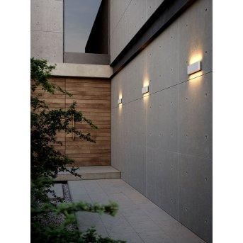 Applique murale d'extérieur Nordlux KINVER LED Blanc, 2 lumières