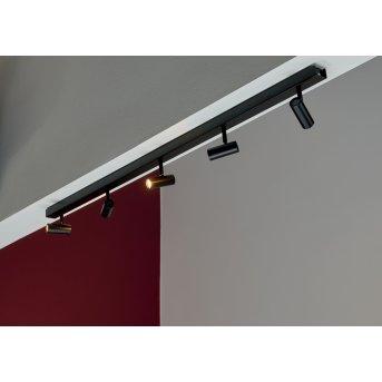 Plafonnier Nordlux OMARI LED Noir, 5 lumières