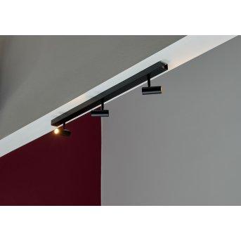 Plafonnier Nordlux OMARI LED Noir, 3 lumières