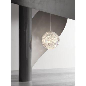 Suspension Louis Poulsen Patera LED Chrome, 1 lumière
