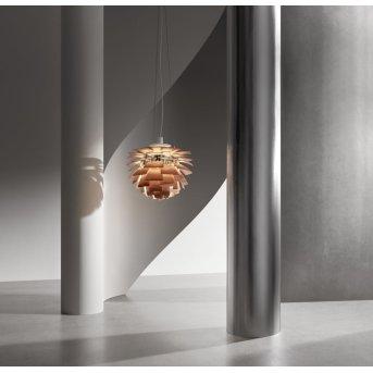 Suspension Louis Poulsen PH Artichoke LED Chrome, 1 lumière