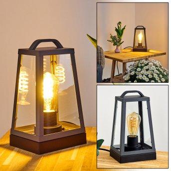 Lampe à poser Zakopane Anthracite, 1 lumière