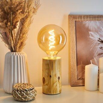 Lampe de table Canedo Brun, 1 lumière