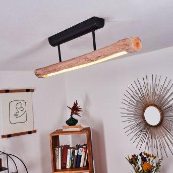Plafonnier Winterthur LED Noir, 1 lumière