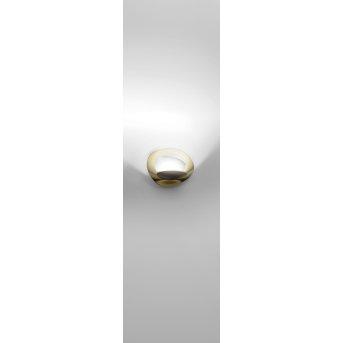 Applique murale Artemide Pirce Micro LED Or, 1 lumière