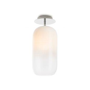 Plafonnier Artemide Gople Mini Aluminium, 1 lumière
