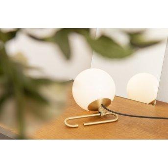 Lampe de table Artemide nh1217 Laiton, 1 lumière