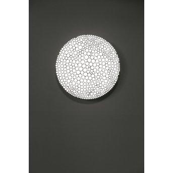 Plafonnier Artemide Calipso LED Blanc, 4 lumières