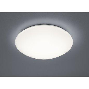 Plafonnier Trio Paolo LED Blanc, 1 lumière