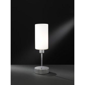 Lampe à poser Wofi LOFT Nickel mat, 1 lumière