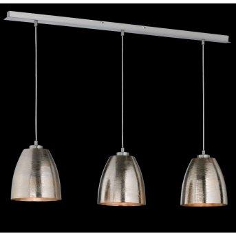 Suspension Honsel SHINE Nickel mat, 3 lumières