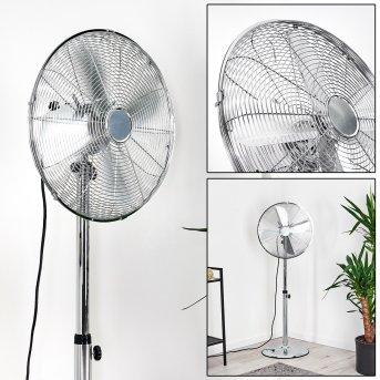 Ventilateur Mahon Chrome